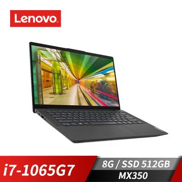 Lenovo聯想 IdeaPad Slim 5i 筆記型電腦(i7-1065G7/MX350/8GB/512GB)(81YH00G0TW)