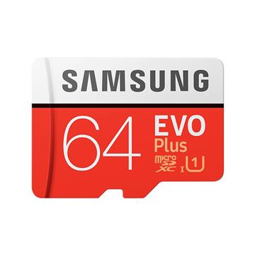 SAMSUNG三星 EVO Plus MicroSD 64G記憶卡