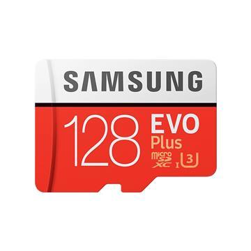 SAMSUNG三星 EVO Plus MicroSD 128G記憶卡 MB-MC128HA