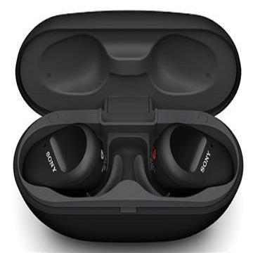 (福利品)索尼SONY WF-SP800N 真無線藍牙耳機 黑