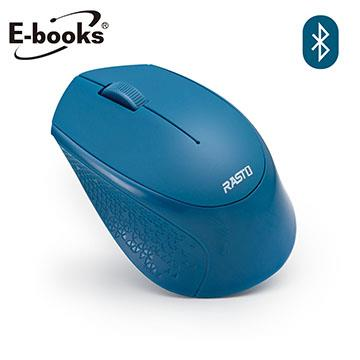 E-books M60藍牙三鍵式超靜音無線滑鼠-藍