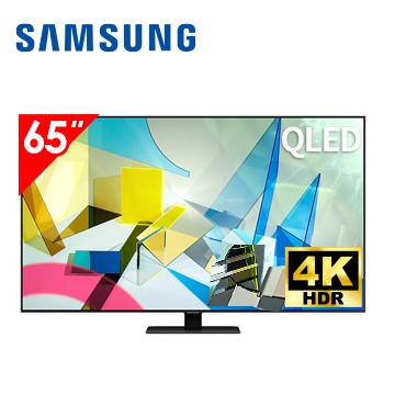 三星SAMSUNG 65型4K QLED 智慧連網電視 QA65Q80TAWXZW