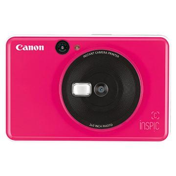 (拆封品)佳能Canon CV-123A 拍可印相機 泡泡糖粉