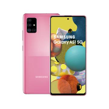 三星SAMSUNG Galaxy A51 5G 智慧型手機 冰礦粉