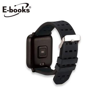 E-books VA3 快拆錶帶20mm通用款 黑