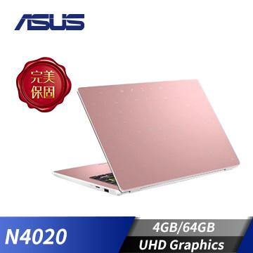 ASUS華碩 Laptop 筆記型電腦 金(N4020/4GB/64GB)