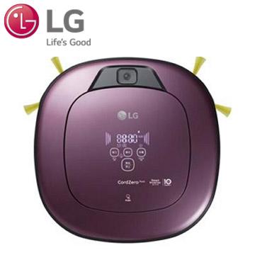 樂金LG WIFI濕拖清潔機器人(迷幻紫)(VR6690TWVV)