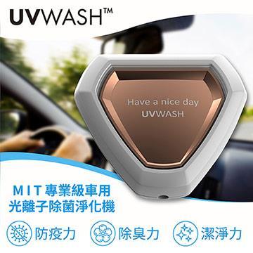 UVWASH mini光離子除菌淨化機-白色