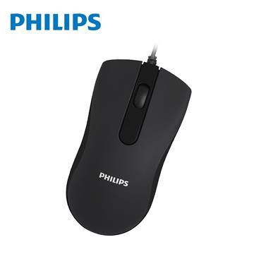 PHILIPS SPK7101有線靜音滑鼠(SPK7101)