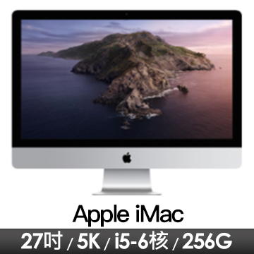 Apple iMac 27吋 5K/3.1G(6核)/8G/256G/RP5300-4G