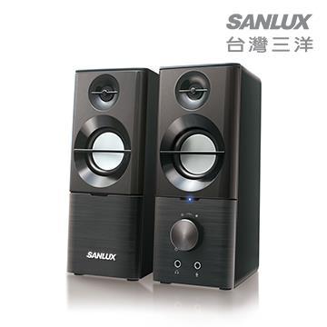 SANLUX三洋 2.0聲道USB多媒體喇叭 SYSP-190