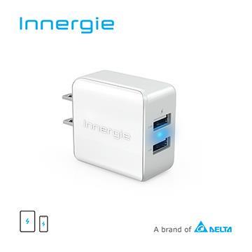 台達Innergie 17M 17瓦雙孔 USB 快速充電器