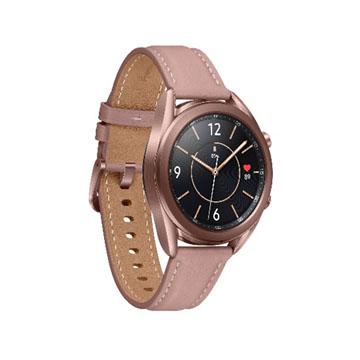 (教育價)三星SAMSUNG Galaxy Watch3 41mm 智慧型手錶 不鏽鋼/星霧金