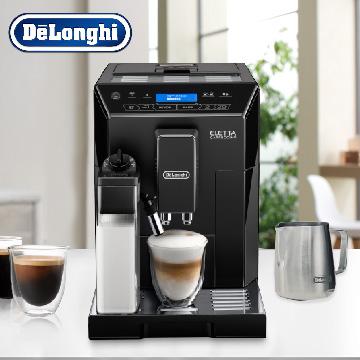 淺口袋 - 金鑛精品咖啡豆12包+DeLonghi ECAM晶鑽型全自動義式咖啡機