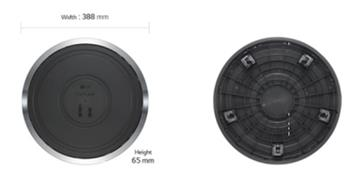 LG AS101DSS0移動滾輪