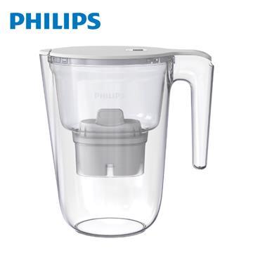飛利浦Philips 超濾濾水壺帶計時器-3.4L長效版