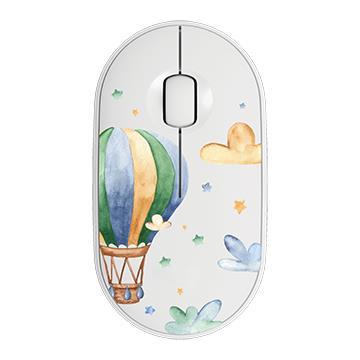 Logitech羅技 Pebble M350設計款上蓋-夢想熱氣球