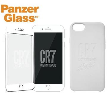PanzerGlass iPhone SE CR7 矽膠保護殼-白 0110