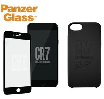 PanzerGlass iPhone SE CR7 矽膠保護殼-黑