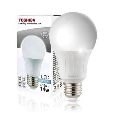 東芝TOSHIBA 14W LED燈泡-白光