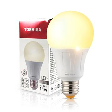 東芝TOSHIBA 11W LED燈泡-自然光