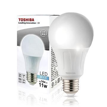東芝TOSHIBA 11W LED燈泡-白光 35004632