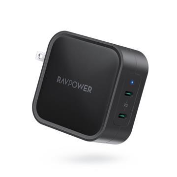RAVPower 90W氮化鎵GaN USB-C快速充電器-黑