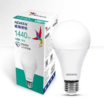 ADATA 威剛12W節能標章LED球泡燈-白光