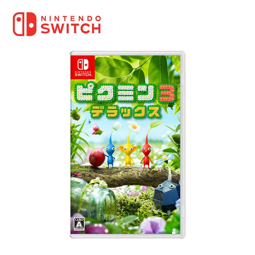 Switch 皮克敏3 豪華版