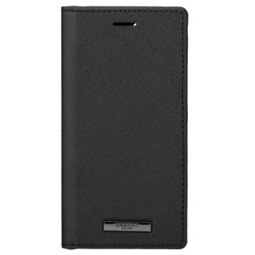 Gramas iPhone 12 mini 掀蓋式皮套-EURO黑 CBCEP-IP10BLK