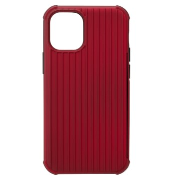 Gramas iPhone 12 mini 防摔經典手機殼-紅