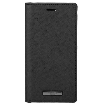 Gramas iPhone 12 Pro / 12 掀蓋式皮套-EURO黑
