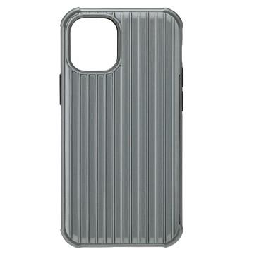 Gramas iPhone 12 Pro Max 防摔經典手機殼-灰