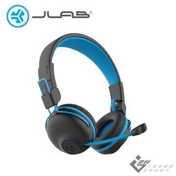JLab JBuddies Play 電競兒童耳機-藍色