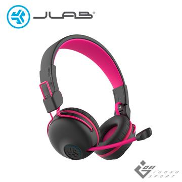 JLab JBuddies Play 電競兒童耳機-粉紅色