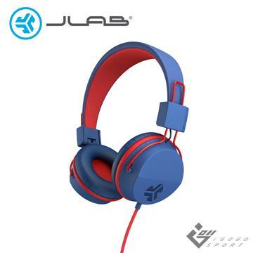 JLab JBuddies Studio 兒童耳機-藍紅