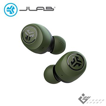 JLab GO AIR 真無線藍牙耳機-墨綠
