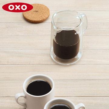 美國OXO 雙層玻璃壺
