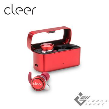Cleer Ally 真無線藍牙耳機-熱情紅