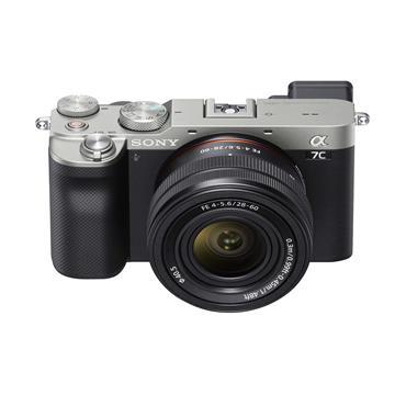索尼SONY ILCE-7CL/S 可交換式鏡頭相機 KIT 銀