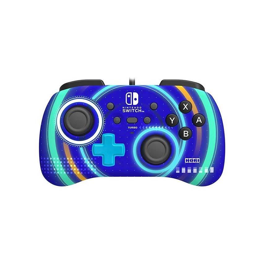 HORI Switch 有線迷你手把 藍色款