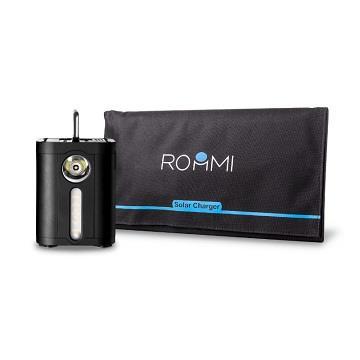 ROOMMI行動電源+28W太陽能板組合包