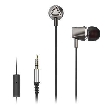 Hawk HIE100高清晰音樂耳機-鈦極銀