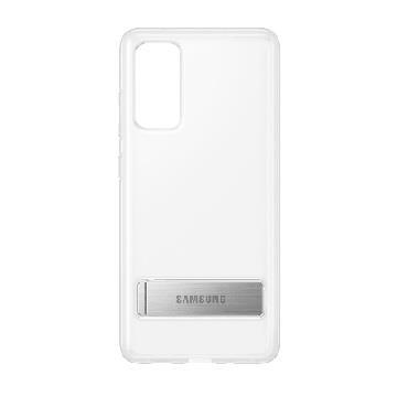 三星SAMSUNG Galaxy S20 FE 原廠立架式背蓋 透明