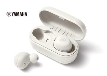 YAMAHA 真無線藍牙耳機-白