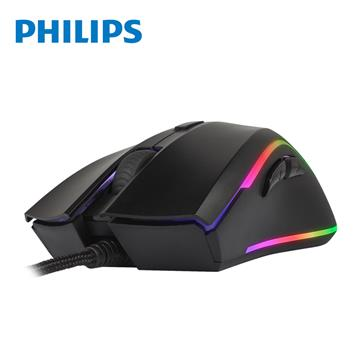 飛利浦PHILIPS 有線電競滑鼠