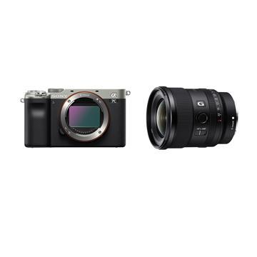 索尼SONY ILCE-7C/S+SEL20F18 可換式鏡頭相機