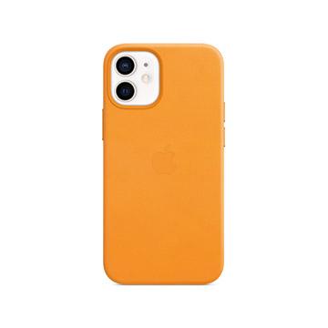 iPhone 12 mini MagSafe 皮革殼-加州罌粟