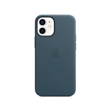 iPhone 12 mini MagSafe 皮革殼-波羅的海藍
