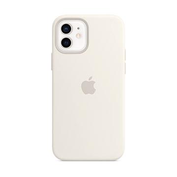 iPhone 12/12 Pro MagSafe 矽膠保護殼-白色